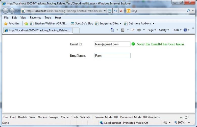 EmailAvailability