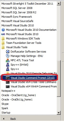 How to use Corflags tool of Visual Studio to check 32/64 bit of dll ?
