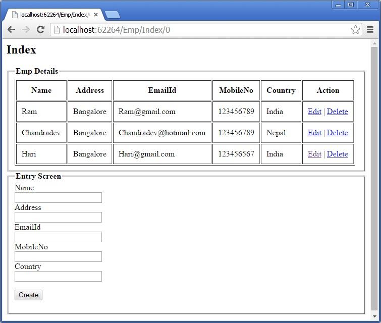 EntryScreen