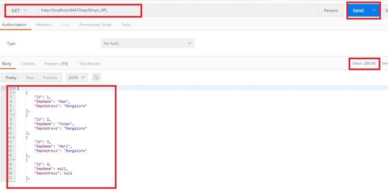 How to test Web API Method using PostMan tool? (Part 3
