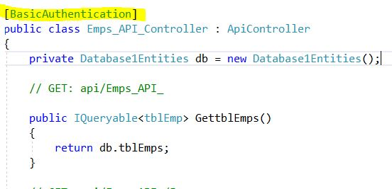 How to Implement Basic Authentication in Asp net Web API 2 0